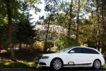The CSD Audi parked in front of the Flip Men Season 1 Mansion