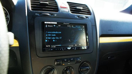 "Pioneer 7"" In Dash Screen"