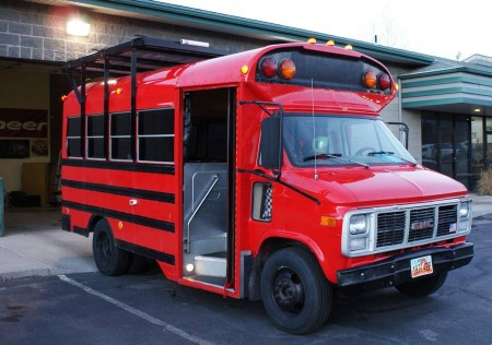 Tailgating Short Bus