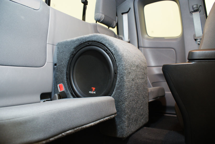 toyota tacoma access cab subwoofer. Black Bedroom Furniture Sets. Home Design Ideas