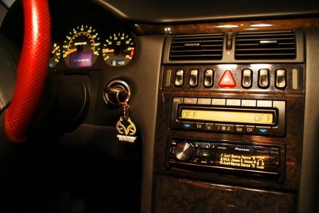 E55 AMG Dash