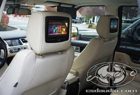 Range Rover Sport DVD Package